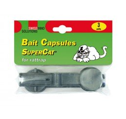 SWISSINNO BAIT CAPSULE FOR RAT TRAP SUPERCAT