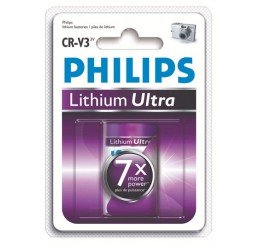 PHILIPS LITHIUM ULTRA CR-V3 LITHIUM BATTERY PACK