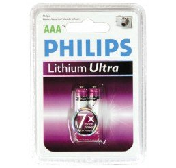 PHILIPS LITHIUM ULTRA 2AAA LITHIUM BATTERY PACK