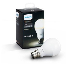 PHILIPS HUE WHITE 9.5W A60 B22 BULB