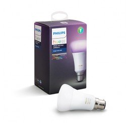 PHILIPS HUE COLOUR/WHITE 10W A60 B22 BULB