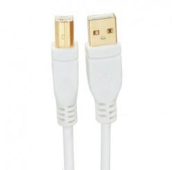 OMP USB A PLUG TO B PLUG 2.5 METRES