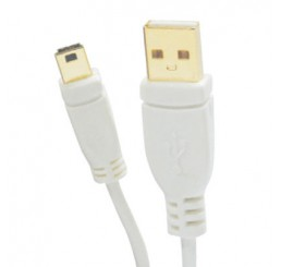 OMP USB A PLUG TO USB MINI  B 5PIN PLUG 2.5 METRES