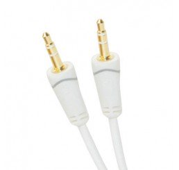 OMP 3.5MM PLUG TO PLUG STEREO CABLE 2.5 METRES