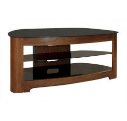 "OMP 3 SHELF 32-55"" TV TABLE WALNUT KAIKOURA"
