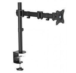 "OMP DESK MOUNT SINGLE ARM 13-27"" MONITOR VESA75/100 MOUNT"