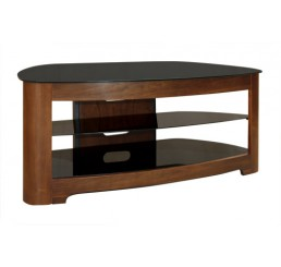 "OMP 3 SHELF 32-55"" TV TABLE WALNUT KAIKOURA"