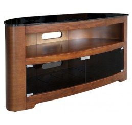 "OMP 3 SHELF 32-50"" TV TABLE WALNUT WITH DOORS WAIAU"