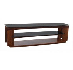 "OMP 3 SHELF 37-70"" TV TABLE WALNUT KAWEKA"