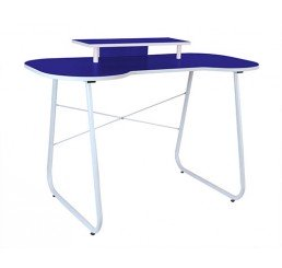 OMP SOHO SERIES CARNABY DESK  BLUE/WHITE