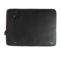 OMP APOLLO SERIES 2 LAPTOP SLEEVE BLACK/BLUE TRIM