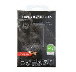 OMP iPHONE 4/4S PREMIUM TEMPERED GLASS SCREEN PROTECTOR