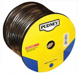 PUDNEY RG6A COAXIAL WIRE 25 METRES