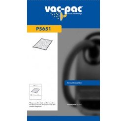 VACPAC VACUUM CLEANER UNIVERSAL EXHAUST FILTER