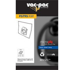 PC89 MICROPLY VACUUM CLEANER BAG