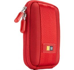 CASE LOGIC COMPACT CAMERA CASE RED