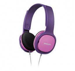 PHILIPS ON EAR KIDS HEADBAND HEADPHONE  PINK