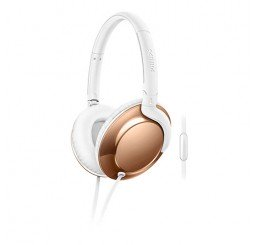 PHILIPS OVEREAR FLITE HEADPHONES GOLD
