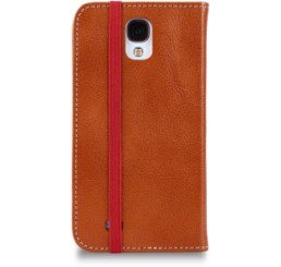 TOFFEE FLIP WALLET FOR SAMSUNG S4 TAN